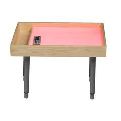 Стол для рисования песком всё включено (розовый)