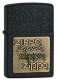 Зажигалка ZIPPO Black Crackle (362)
