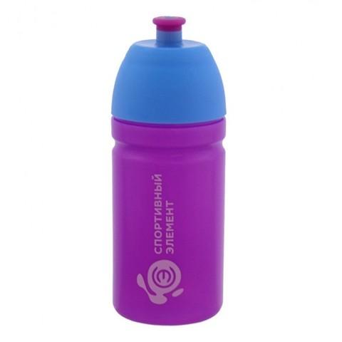 Бутылка для воды «Спортивный Элемент» (фиолетовая), 500 мл