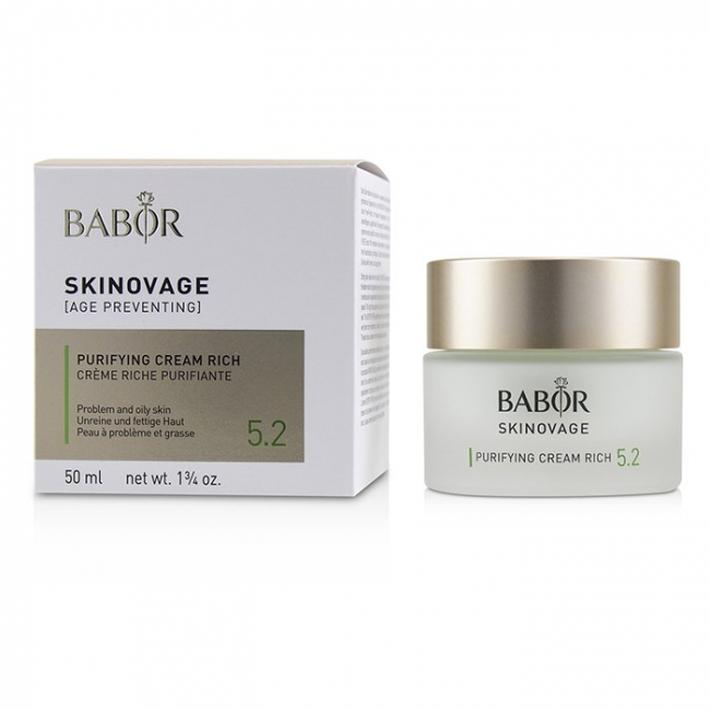 Крем Babor Skinovage Purifying Cream Rich 5.2 50 ml