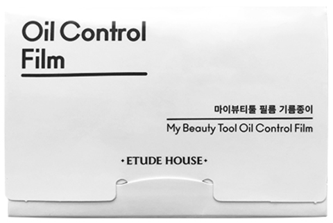 Матирующие салфетки Etude House My Beauty Tool Oil Control Film, 50 шт.