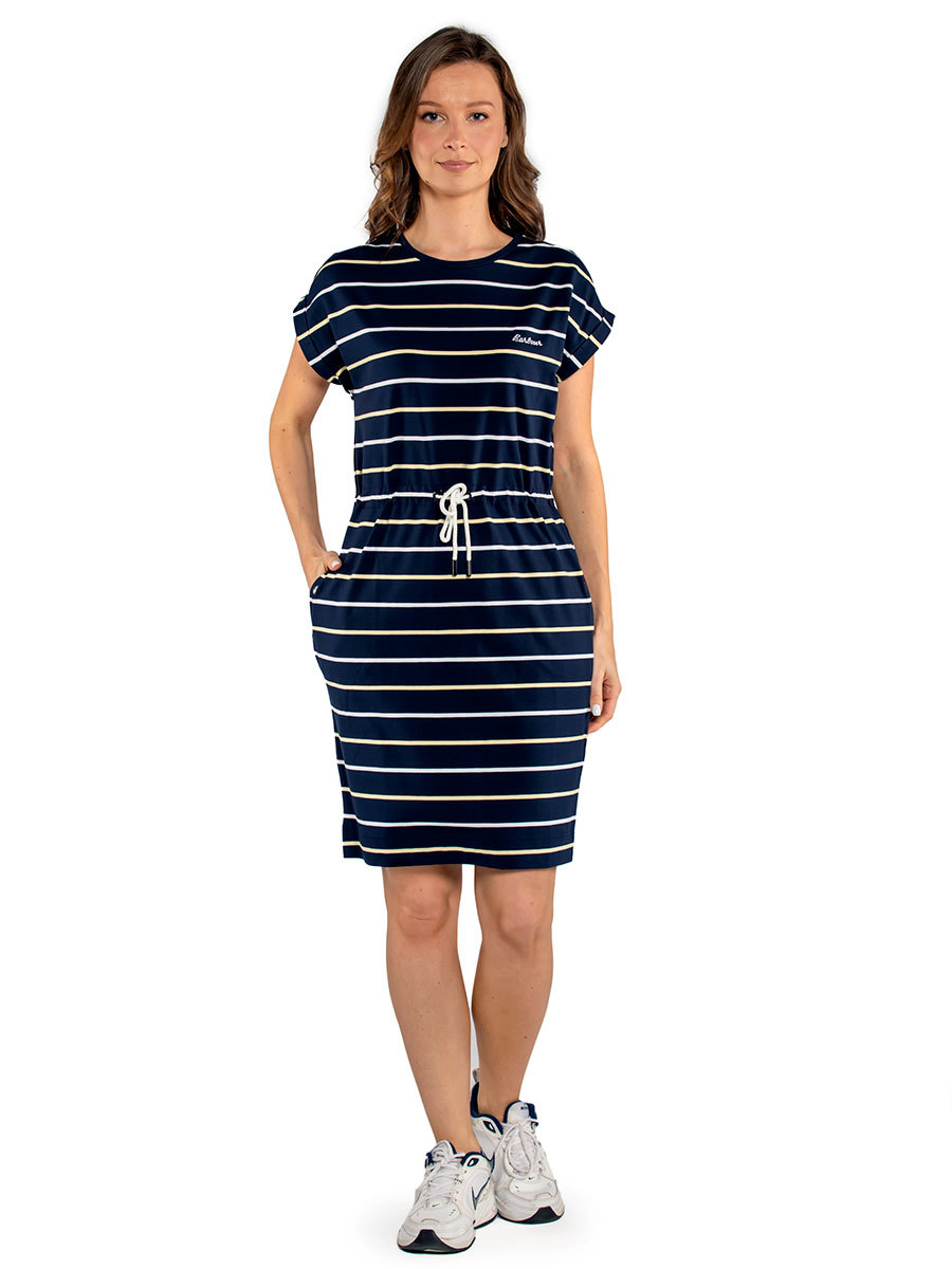 Barbour платье Marloes Stripe Dress LDR0307/NY74