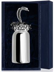 Серебряная рюмка «Змея» с чернением