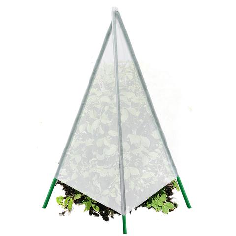 Укрытие для растений - конус, с металлическими стойками, 80х120 cм