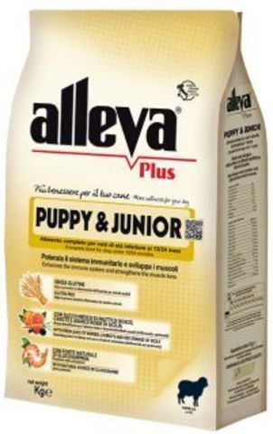Сухой корм Alleva Plus Gluten Free Puppy & Junior
