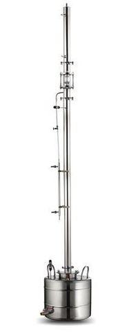 Ректификационная колонна AquaGradus Альфа - комплект 25 л - соединение кламп