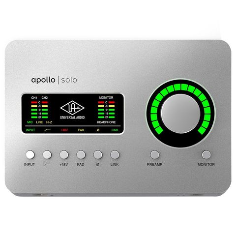 Universal Audio Apollo Solo Thunderbolt 3 Аудиоинтерфейс