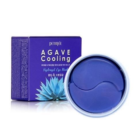 PETITFEE Гидрогелевые патчи для глаз  АГАВА PETITFEE Agave Cooling Hydrogel Eye Mask, 60 шт