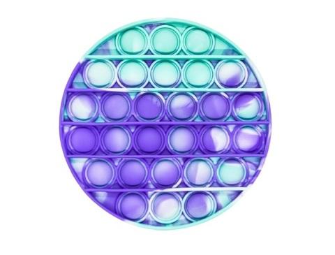 Антистресс игрушка Pop It, круг, разноцветный