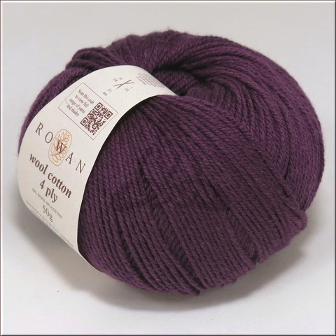 Пряжа WOOL COTTON 4 Ply Rowan