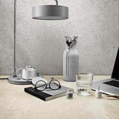 Графин Fridge в неопреновом текстурном чехле 1 л светло-серый, фото 2