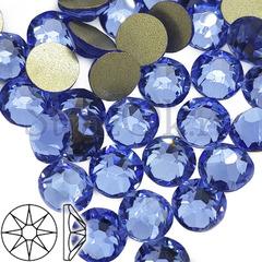 Купить стразы оптом Xirius 8+8 граней Light Sapphire голубые