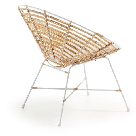 Кресло Kartell из ротанга