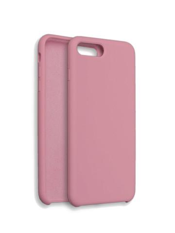 Чехол для iPhone 7/8/SE Софт тач мягкий эффект | микрофибра розовый