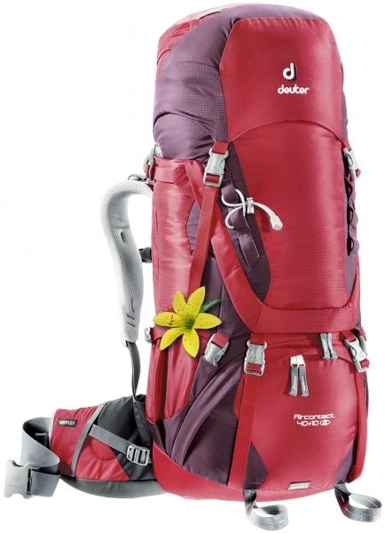 Туристические рюкзаки большие Рюкзак женский Deuter Aircontact 40+10 SL New 900x600-7532-hiking-backpack-aircontact-40l-plus-10-sl-red-purple.jpg