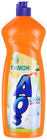 "Средство для мытья посуды ""AOS"" Лимон 900мл"