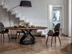 стол обеденный Capri Wood Round B6813