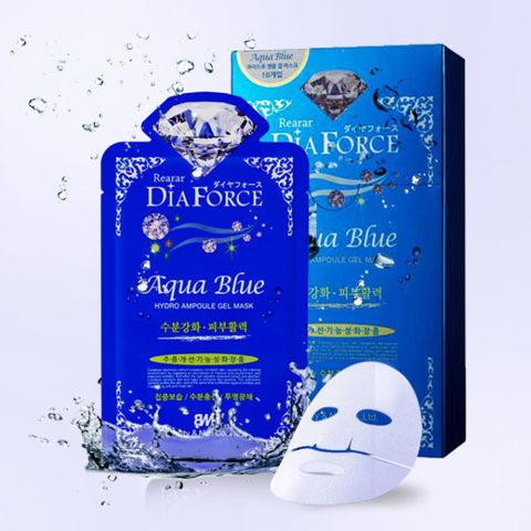 Гидрогелевая ампульная маска Rearar Dia Force Hydro-Gel Aqua Blue Mask