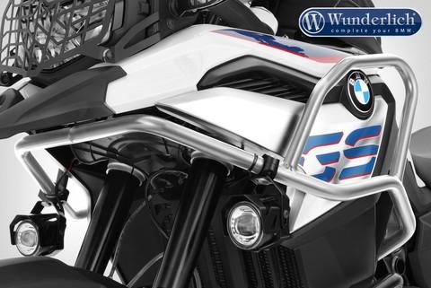 Дуги защиты бака ADVENTURE BMW F 850 GS - серебро