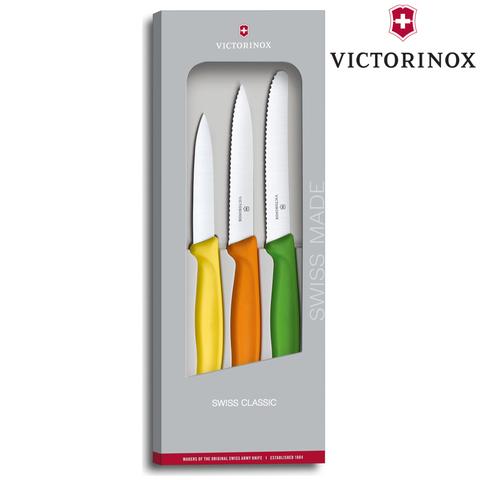 Набор ножей для кухни Victorinox Classic (6.7116.31G) 80-100-110 мм 3 шт микс