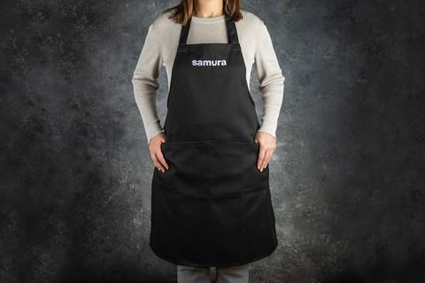 Кухонный фартук черный Samura Большой SAP-01B/K