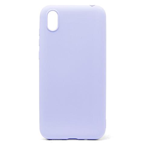 Чехол для Huawei Honor 8S/Y5 2019 Софт тач мягкий эффект | микрофибра светло-фиолетовый