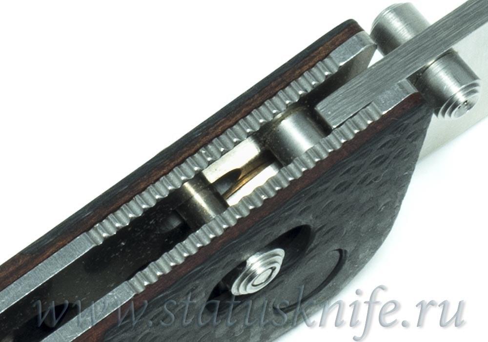 Нож Benchmade 733-01 Ares CF Wood Prototype - фотография