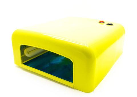 УФ лампа 36 вт. Цвет Желтый