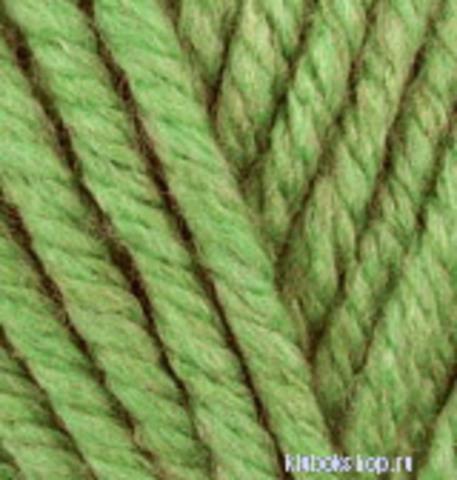 Alize Superlana Megafil 485 Зеленая черепаха, фото