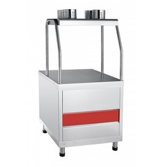 Стол для приборов и подносов ПСП-70КМ (630x674x1244)