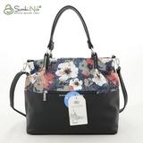 Сумка Саломея 185 текстиль цветы