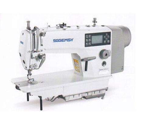 Одноигольная прямострочная швейная машина Gemsy GEM 8960 ME4 - DC | Soliy.com.ua