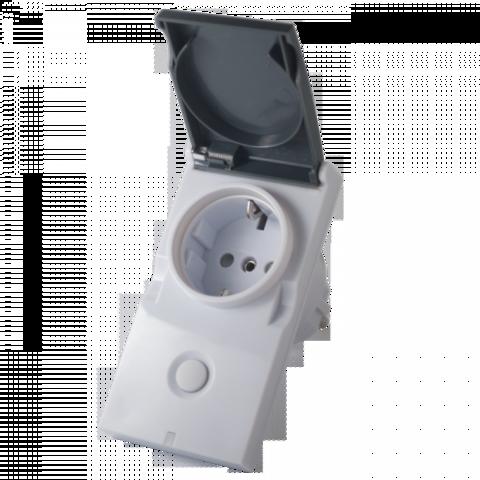 Модуль-выключатель в розетку Z-Wave.Me Plug-in Switch IP44