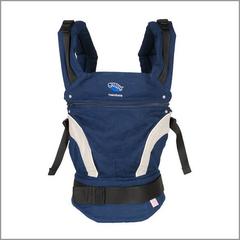 Слинг-рюкзак Manduca Baby Carrier New Style Navy (Синий)