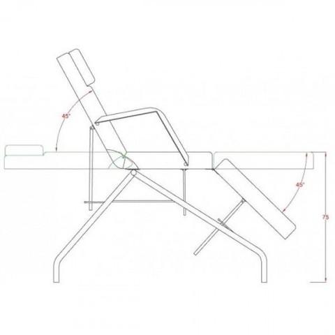 Кресло косметологическое MK04