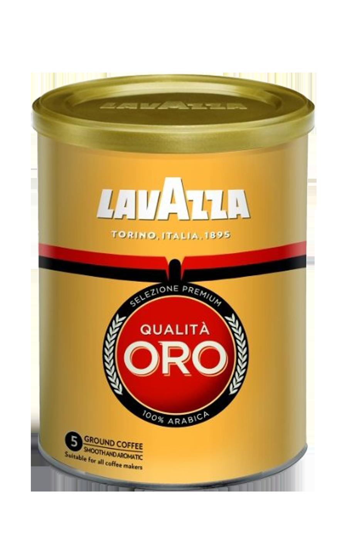 Кофе молотый Lavazza Qualita Oro жестяная банка, 250 г