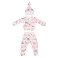 Mini Fox. Комплект для новорожденных 3 предмета, белки вид 1