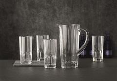 Набор из 5-и предметов кувшин + 4 стакана Nachtmann Aspen 1190/309 мл, фото 1