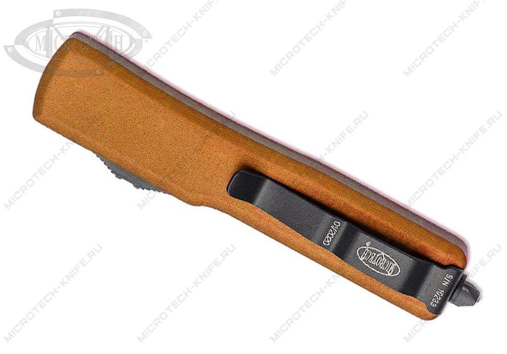 Нож Microtech UTX-70 Black 148-1OR - фотография