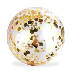 Шар-сфера Баблс (Bubble) с конфетти золото