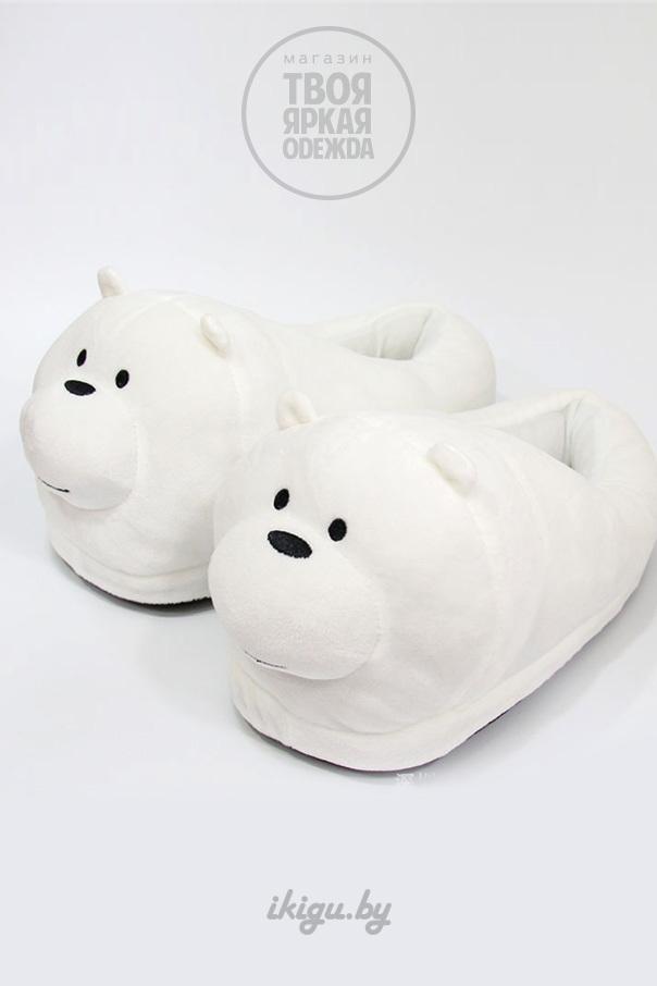 """Тапочки Тапочки """"Белый Мишка"""" misha-bel.jpg"""