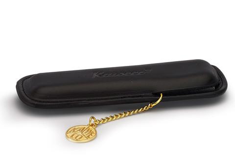 Чехол CLASSIC для 2 ручек Sport кожаный чёрный