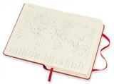 Ежедневник Moleskine Classic Daily Pocket 400 стр красный (DHF212DC2)