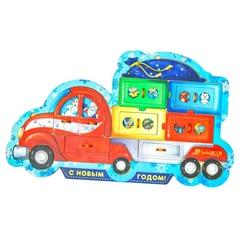 Пазл Новогодний грузовик Smile decor П247