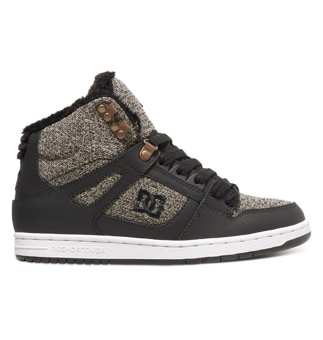 Кеды DC Shoes REBOUND HIGH WN J SHOE BKZ Black Dark Used