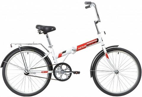 Складной велосипед Novatrack TG-24 CLASSIC 1.0 NF белый
