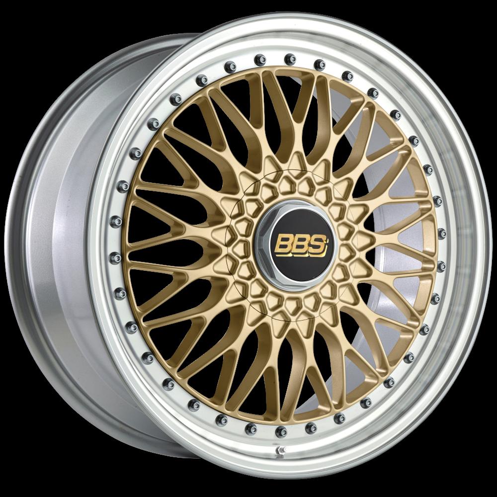 Диск колесный BBS Super RS 8.5x19 5x112 ET48 CB82.0 gold