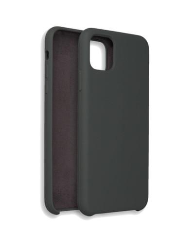 Чехол для iPhone 11 Pro Софт Тач мягкий эффект   микрофибра хаки
