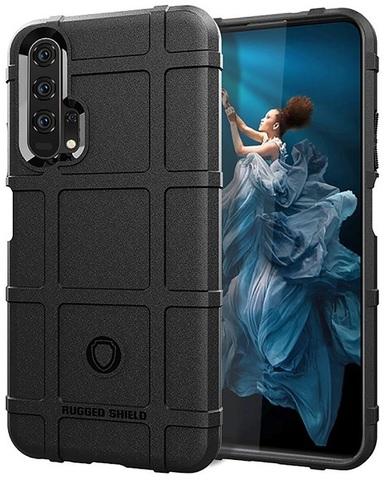 Чехол Honor 20 (Honor 20S, 20 Pro, Huawei Nova 5T) цвет Black (черный), серия Armor, Caseport