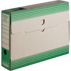 Короб архивный Attache картон зеленый 256х75х322 мм